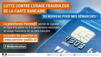 Perceval, un service pour signaler en ligne une fraude à la carte bancaire