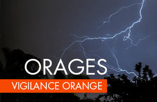 Vigilance ORANGE orages en Gironde