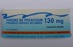 Campagne de distribution de pastille d'iode stable