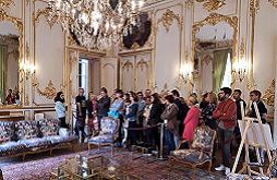 Visite de l'hôtel de Nesmond, résidence des préfets de la Gironde