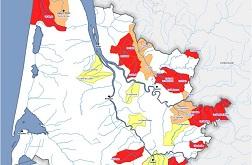 Carte des ressources en eau