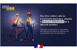 Campagne sécurité routière sur le vélo