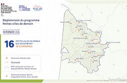 carte petites villes de demain