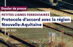 Petites lignes ferroviaires en Nouvelle-Aquitaine