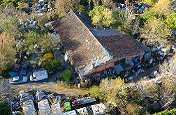 Site illégal de stosckage de déchets