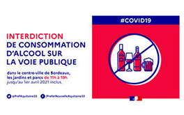 Covid - Consommation alcool