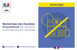 Restriction horaires d'ouverture commerces en Gironde